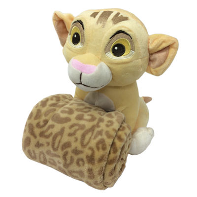 Disney Lion King Plush Toy With A Blanket Stuffed Animal Jcpenney