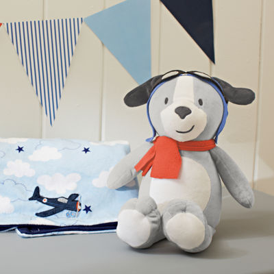 Carter's Take Flight Plush Puppy Toy Stuffed Animal