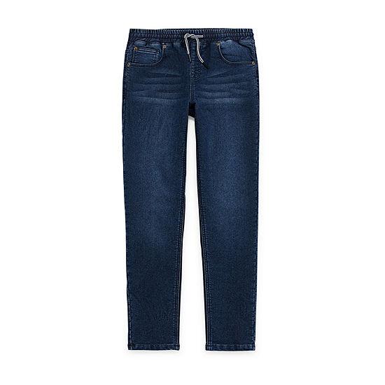 Arizona Boys Flex Straight Pull-On Pants - Preschool / Big Kid