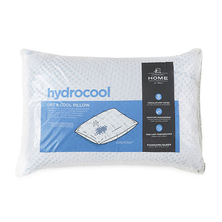JCPenney Home HydroCool Pillow, One Size , White