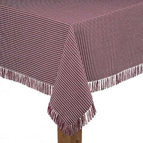Lintex Linens Homespun Tablecloth