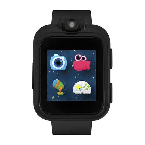 Itouch Playzoom Boys Black Smart Watch-Ipz03494s59b-003
