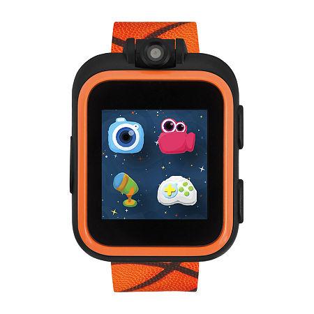 Itouch Playzoom Boys Orange Smart Watch 50018m-18-Opr, One Size