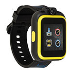 Itouch Playzoom Batman Boys Black Smart Watch-50088m-18-Blt