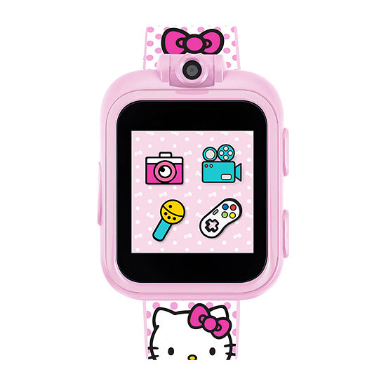 Itouch Playzoom Hello Kitty Girls Pink Smart Watch-100026m-18-Bpr