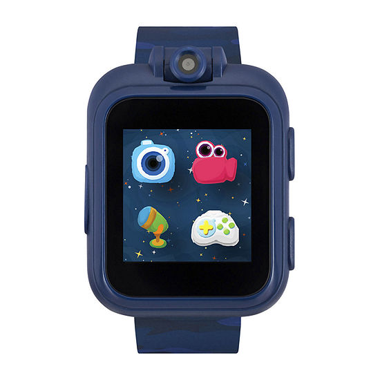 Itouch Playzoom Boys Blue Smart Watch-03650m-51-Bpt