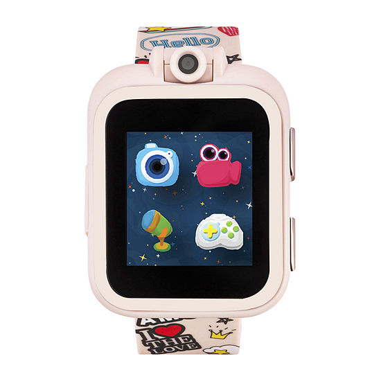 Itouch Playzoom Girls Pink Smart Watch-13463m-51-Pnp
