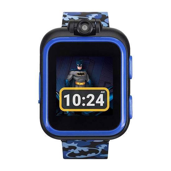 Itouch Playzoom Batman Boys Blue Smart Watch-50115m-42-Blt