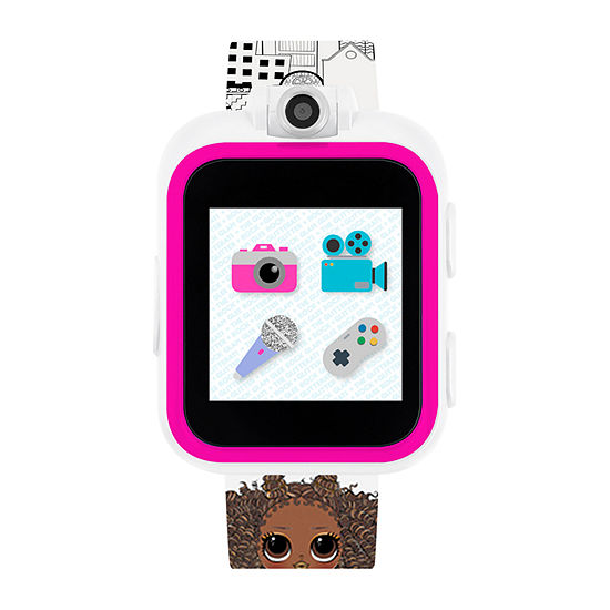 Itouch Playzoom LOL Girls White Smart Watch-100023m-51-H01