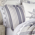 Queen Street Simona 4-pc. Stripes Heavyweight Comforter Set