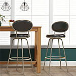 Hillsdale House Rollins Counter Height Upholstered Bar Stool