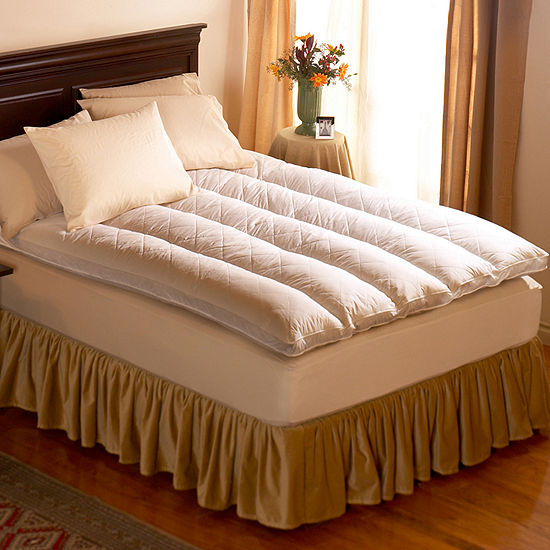 Pacific Coast™ Euro Rest 230tc Quilt Top Feather Bed