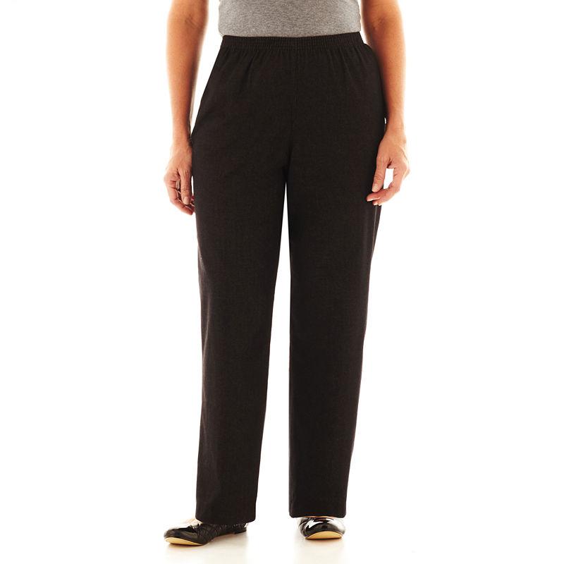 Alfred Dunner Black Denim Pants - Plus plus size,  plus size fashion plus size appare
