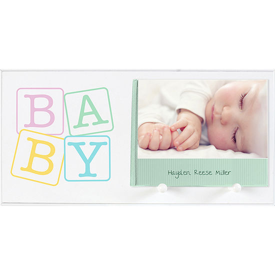 Burnes of Boston® Baby Block Photo Book Holder