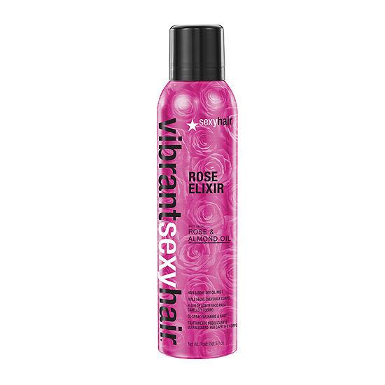 Vibrant Sexy Hair® Rose Elixir Hair and Body Dry Oil Mist - 5.1 oz.