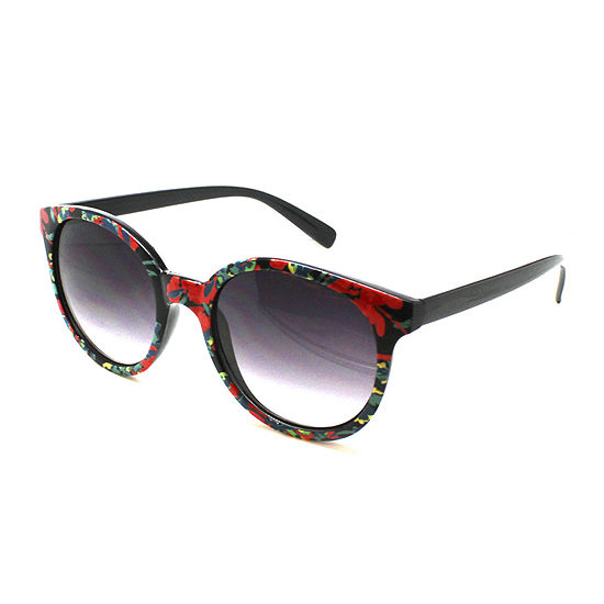 Fantas Eyes Wallace Floral Round Sunglasses