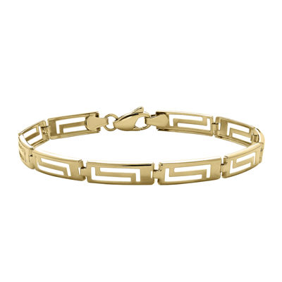 Infinite Gold™ 14K Yellow Gold Greek Key Bracelet