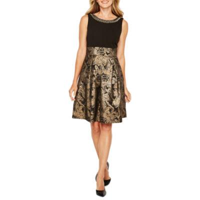 Studio 1 Sleeveless Embellished Party Dress