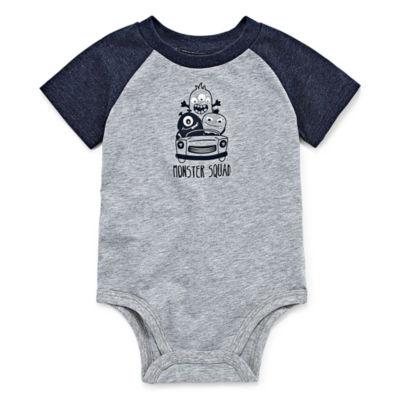 Okie Dokie Short Sleeve Bodysuit - Baby Boy NB-24M