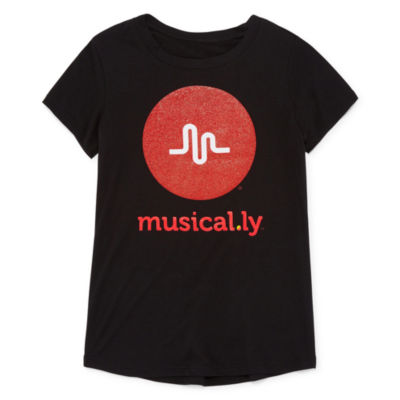 Musical.ly T-Shirt - Girls' 7-16