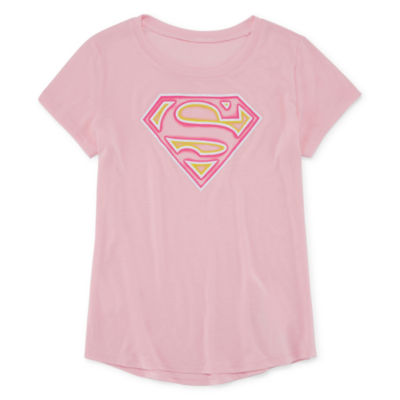 Super Girl Logo T-Shirt- Girls' 7-16