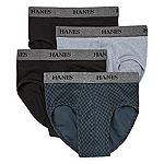 Hanes® Men's Stretch FreshIQ™ 4-pk.Tagless® Briefs - Big