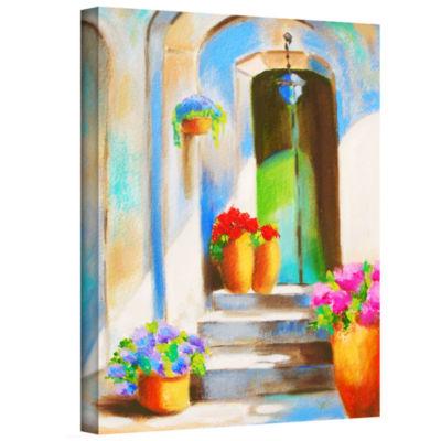 Brushstone Tuscan Morning Stillness Gallery Wrapped Canvas Wall Art