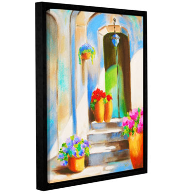 Brushstone Tuscan Morning Stillness Gallery Wrapped Floater-Framed Canvas Wall Art