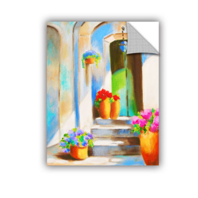Brushstone Tuscan Morning Stillness Removable WallDecal