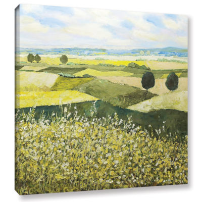Brushstone Top Of The Hill Gallery Wrapped CanvasWall Art
