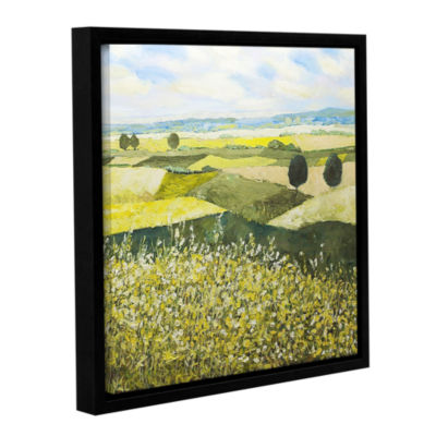 Brushstone Top Of The Hill Gallery Wrapped Floater-Framed Canvas Wall Art