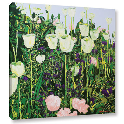 Brushstone Tulip Delight Gallery Wrapped Canvas Wall Art