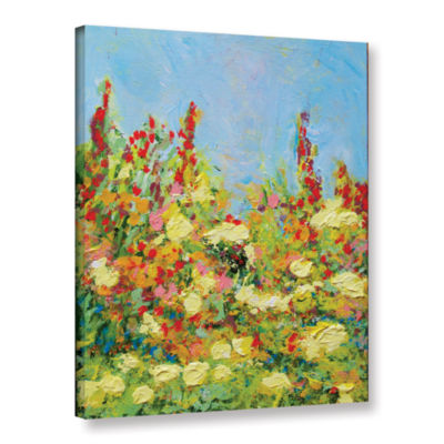Brushstone The Master Of Nets Garden Gallery Wrapped Canvas Wall Art