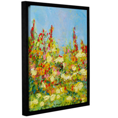 Brushstone The Master Of Nets Garden Gallery Wrapped Floater-Framed Canvas Wall Art