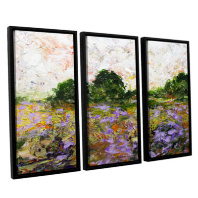 Brushstone Trowbridge 3-pc. Floater Framed CanvasWall Art
