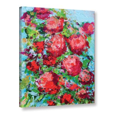 Brushstone Tuileries Garden Gallery Wrapped CanvasWall Art
