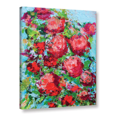 Brushstone Tuileries Garden Gallery Wrapped CanvasWall Art