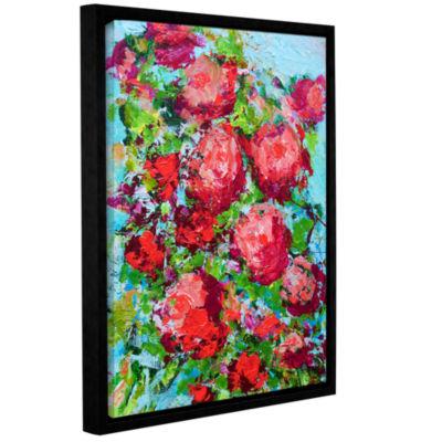 Brushstone Tuileries Garden Gallery Wrapped Floater-Framed Canvas Wall Art