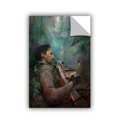 Brushstone The Hunting Of Man Removable Wall Decal