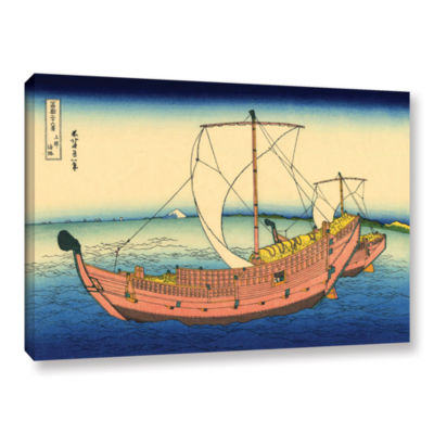 Brushstone The Kazusa Province Sea Route Gallery Wrapped Canvas Wall Art