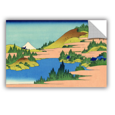 Brushstone The Lake Of Hakone Removable Wall Decal