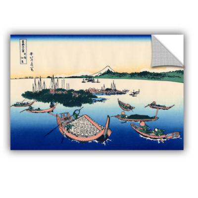 Brushstone Tsukuda Island In Musashi Province Removable Wall Decal