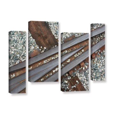 Brushstone This Way 4-pc. Gallery Wrapped Staggered Canvas Wall Art