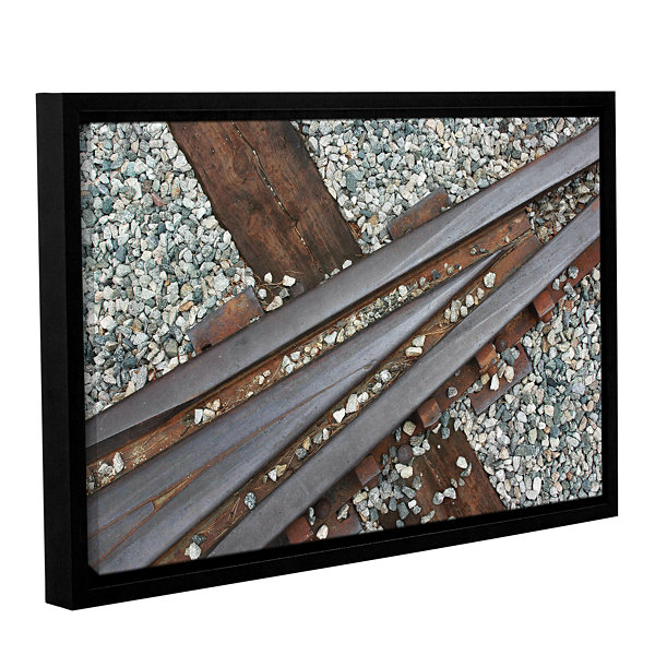 Brushstone This Way Gallery Wrapped Floater-FramedCanvas Wall Art