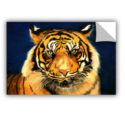 Brushstone Tiger By Lins Removable Wall Decal