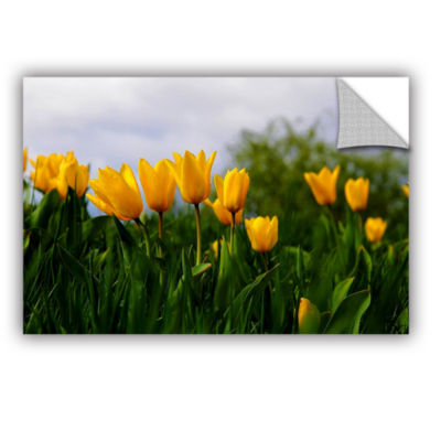 Brushstone Tulips by Lindsey Janich Removable WallDecal
