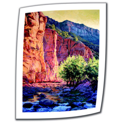 Brushstone The West Fork Canvas Wall Art