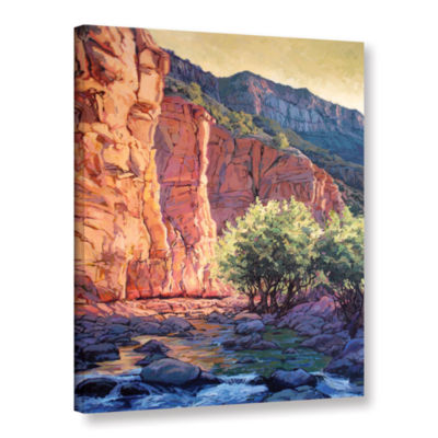 Brushstone The West Fork Gallery Wrapped Canvas Wall Art