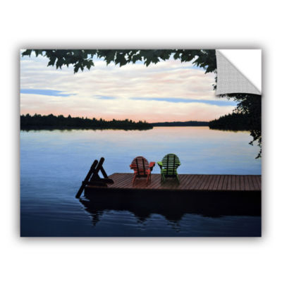 Brushstone Tranquility Removable Wall Decal