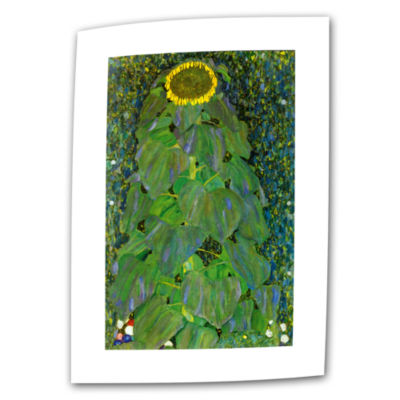 Brushstone The Park By Gustav Klimt Canvas Wall Art